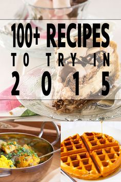A little over a week ago, I put a call out for food bloggers the world over to share the recipes they're most proud of from 2014. Here they are. Get your tastebuds ready… Breakfast Maple and Peanut Butter Oatmeal Waffles GF (as pictured) Eggs & Bacon Oatmeal Breakfast Pizza Apple Chunk Breakfast Cake Carrot Jam …