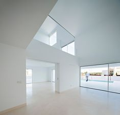 Raumplan house de Estudio Arquitectura Campo Baeza | Maisons particulières