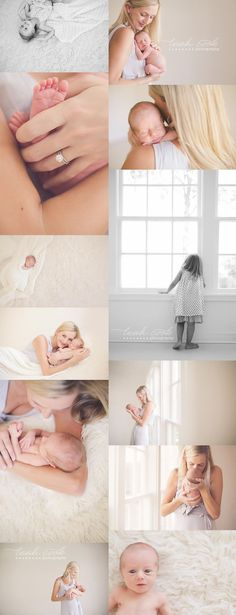 Neutral colors photograph perfectly for newborn sessions and lets us focus on the baby! lila | dallas newborn photographer » Dallas Lifestyle Newborn, Baby, Family, Children's + Maternity Photographer | Leah Cook Photography