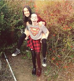 Lauren and Dani😚😚😚😚😚 Cimorelli Sisters, Lauren Cimorelli, Superman Outfit, Six Girl, Girly Girl Outfits, Girls Club, Girl Bands, Celebs, Celebrities