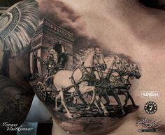 http://tomasvaitkunas.com/ #gladiator #tattoo