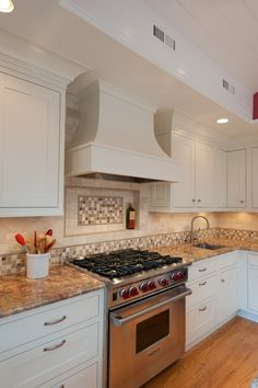 Curved Chimney Range Hood,