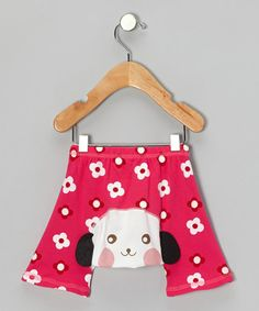 So cute! Red Flower Dog Shorts - Infant $7.99