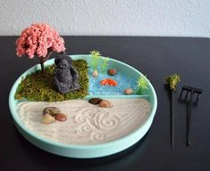 Fabulous Miniature Zen Garden Dream Home Pinterest Miniature