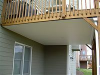 Under Deck Rain Carrying System Deck Pictures, Under Decks, Picture Design, Terrace, Pergola, Photo Galleries, Outdoor Structures, Outdoor Decor