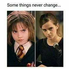 Q- fav role played by Emma Watson? That is the look I give people when they disturb me while I'm rea Harry Potter Hermione, Arte Do Harry Potter, Harry Potter Puns, Harry Potter Characters, Harry Potter Universal, Harry Potter World, Hermione Granger Funny, Ron Weasley, Hermione Granger Drawing
