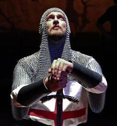 Joshua Schell as Richard The Lionheart. Knight Tattoo, Crusader Knight, Military Orders, Modern Photographers, Templer, Moon Knight, Holy Cross, Face Reference, Medieval Armor