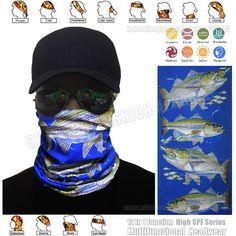 Mental®  Multi-function Seamless Headwear Bandanna For Survivor  Fishing Scarf