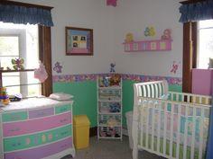 Care bears baby room decor