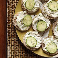 Cucumber-Rye Tea Sandwiches Recipe