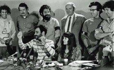 """The trial of the """"Chicago Seven"""" began before Judge Julius Hoffman on this day 9-24 in 1969—44 years ago. The defendants, including David Dellinger of the National Mobilization Committee to End the War in Vietnam (MOBE); Rennie Davis and Tom Hayden of MOBE and Students for a Democratic Society (SDS); and Jerry Rubin and Abbie Hoffman of the Youth International Party (Yippies), were accused of conspiring to incite a riot at the 1968 Democratic National Convention."""