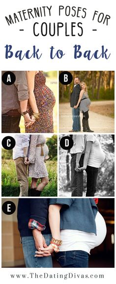 Couples Poses for Maternity Session