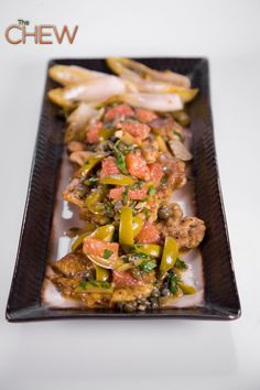Mario's Chicken Saltimbocca with Capers and Grapefruit recipe #thechew