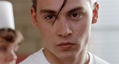 Gratuitous picture of Johnny Depp in Waters' 'Cry-Baby': johnny depp cry baby wallpaper. But observe Johnny Depp in Cry Baby: Johnny. Johnny Depp Cry Baby, Young Johnny Depp, Cry Baby Movie, I Movie, Cry Baby Quotes, Johnny Depp Joven, Junger Johnny Depp, Haha, Baby Tattoos
