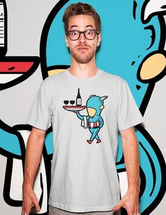 Flying Mouse 365 Selected Tees - Part Time Job - Restaurant