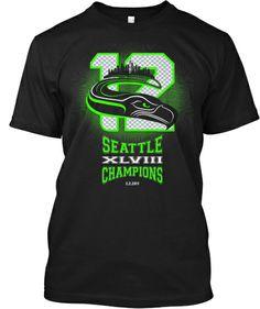 SEATTLE XLVIII CHAMPIONS EDITION