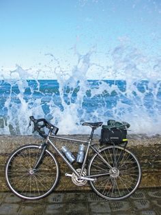 gorgeous photo, but salt water is bad for bikes. puglia, italy