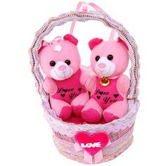 Cheerful Teddies in a Basket : Teddy Bears Cute Teddy Bear Pics, Buy Teddy Bear, Teddy Bear Pictures, Online Gift Shop, Online Gifts, Teddy Bear Online, Birthday Gift Delivery, Online Birthday Gifts, Cute Good Night