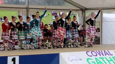 Highland Dancing World Champions for 2016: Under 16 - Erin Blair CA, USA, Under 18 - Emma Schiff CA, USA, Adult - Marielle Lesperance ON, CAN Perform the fin...