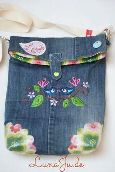 LunaJu **** ★: Marit pocket - or I was once a pair of jeans ;)