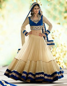 Beautiful Bridesmaid Lehnga Choli Designs By Utsav Fashion: Beautiful Designs Bridesmaid Lehnga Choli for Miss Utsav Fashion is recently realesed, is the mode unsuspecting Utsav is one of the most … Indian Bridal Lehenga, Indian Bridal Wear, Indian Wear, Anarkali Bridal, Blue Bridal, Choli Designs, Indian Dresses, Indian Outfits, Indian Clothes