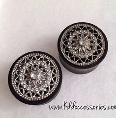 Pretty girly gauges. Plugs.                                                                                                                                                                                 More
