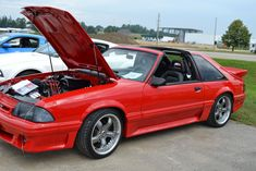 1987 Ford Mustang GT with T-tops