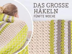 DIY-Anleitung: Decke Nagato häkeln – Das große Häkeln Woche 5 via DaWanda.com