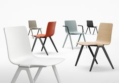 A-Chair by Jehs+Laub for Davis Furniture - Davis Furniture, Office Furniture, Lobby Furniture, Office Chairs, Dining Chair Pads, Dining Chairs, Cafe Chairs, Room Chairs, Industrial Furniture