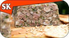 How to Make Brawn - Head Cheese - Fromage de Tête - Meat Series 03 Ground Meat Recipes, Rib Recipes, Great Recipes, Cooker Recipes, Souse Meat Recipe, Pork Head Cheese Recipe, Hogshead Cheese Recipe, Baby Ribs Recipe, Beef Goulash