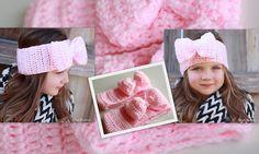 Ravelry: 3D Big Bow Winter Headband Ear Warmer pattern by Bend Beanies - Rachel
