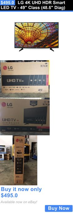 Smart TV: Lg 4K Uhd Hdr Smart Led Tv - 49 Class (48.5 Diag) BUY IT NOW ONLY: $495.0