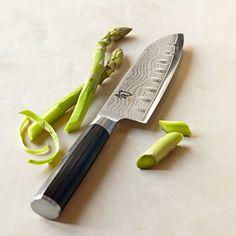 Shun Classic Hollow-Ground Santoku Knife