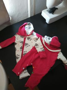 Sewing for babygirl twins
