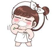 Brush your teeth Meri jaán 💏 Meri don't forget it's important . Cute Couple Cartoon, Cute Cartoon Pictures, Cute Couple Art, Cute Couples, Romantic Kiss Gif, Dream Drawing, Cute Bear Drawings, Cute Love Gif, Anime Character Drawing