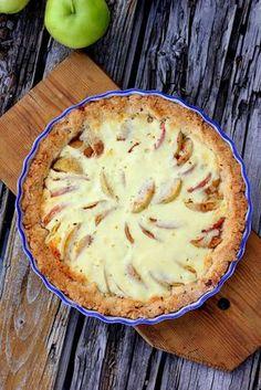 Pata porisee: Gluteenitonta omenapiirakkaa keliakiaviikon kunnia... Pastry Cake, Love Food, Quiche, Mashed Potatoes, Gluten Free, Homemade, Baking, Breakfast, Ethnic Recipes