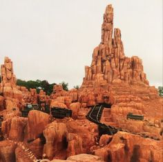 """They call it """"Big Thunder Mountain"""" at Magic Kingdom, but we call it affectionally, """"Crazy Train""""!  Best day ever!  12/2013"""