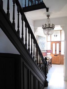 time to repaint the staircase ... maybe black?