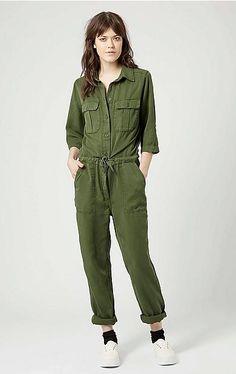 #boilersuit #fashion #womenswear #jumpsuit #onepiece #utility #Topshop #wehkamp