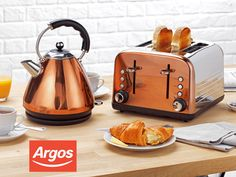 Win a Cookworks copper kettle and toaster set