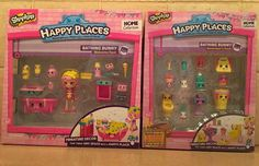 Shopkins Happy Places Bubbleisha Bathing Bunny Welcome Pack and Decorator's Pack  | eBay