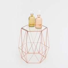 Image 1 of the product Little octagonal table with a geometric base