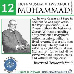 It is amazing to note that even prominent non-Muslims like Gandhi, Michael Hart, Annie Bessant, Thomas Carlyle, Leo Tolstoy, and George Bernand Shaw have paid glowing tributes to Prophet Muhammad (sa). Find out what they said in this amazing visual series.