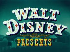 Dumbo (1941) Disney - opening credits
