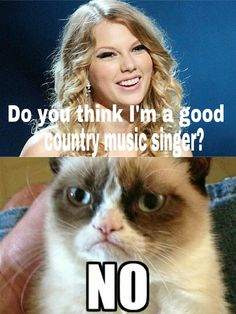 wow, grumpy cat was way nicer than i would have been!