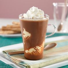 Frosted Coffee Float: An cold and creamy float recipe made with root beer or…