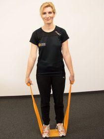 Theraband-Übungen für den Rücken | Wissen & Patient