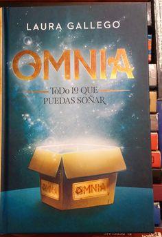 Omnia nuevo libro de Laura Gallego que engancha a niños y a más de un adulto!