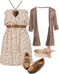 """""""Untitled #376"""" by lauren-anne-pro on Polyvore   I like this minus the shoes. Seems outdated!"""