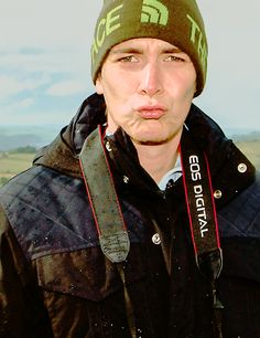 James' Duck Face is adorkable